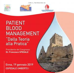 Patient Blood Management. Dalla Teoria alla Pratica