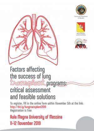 Factors affecting the success of lung transplant programs: critical assessment and feasible solutions